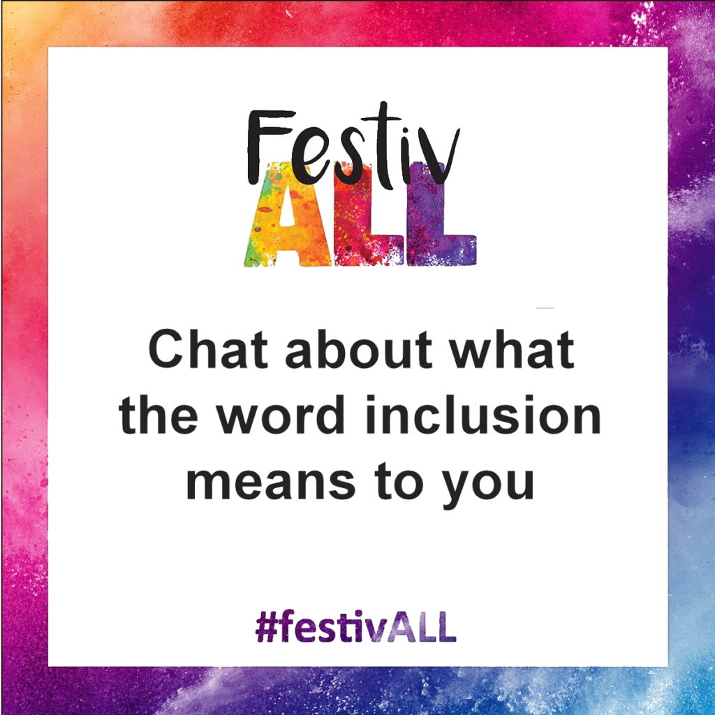 chat about what inclusion means to you