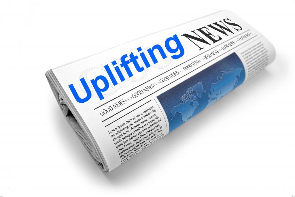 uplifting newspaper